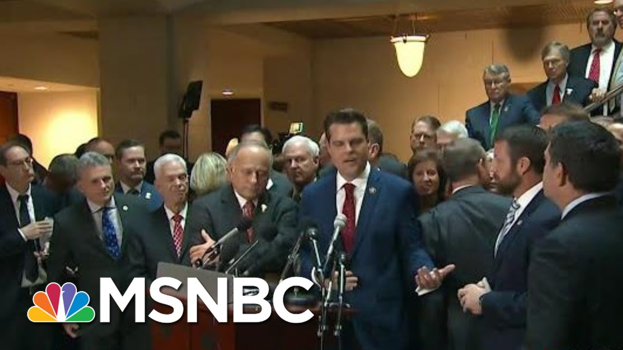 Republican Impeachment Defense A String Of Bad Faith Complaints | Rachel Maddow | MSNBC 2