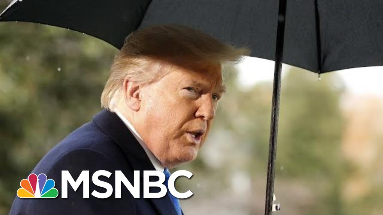 Trump Blames Democrats For Scheduling Impeachment Hearing During London Trip | MSNBC 13