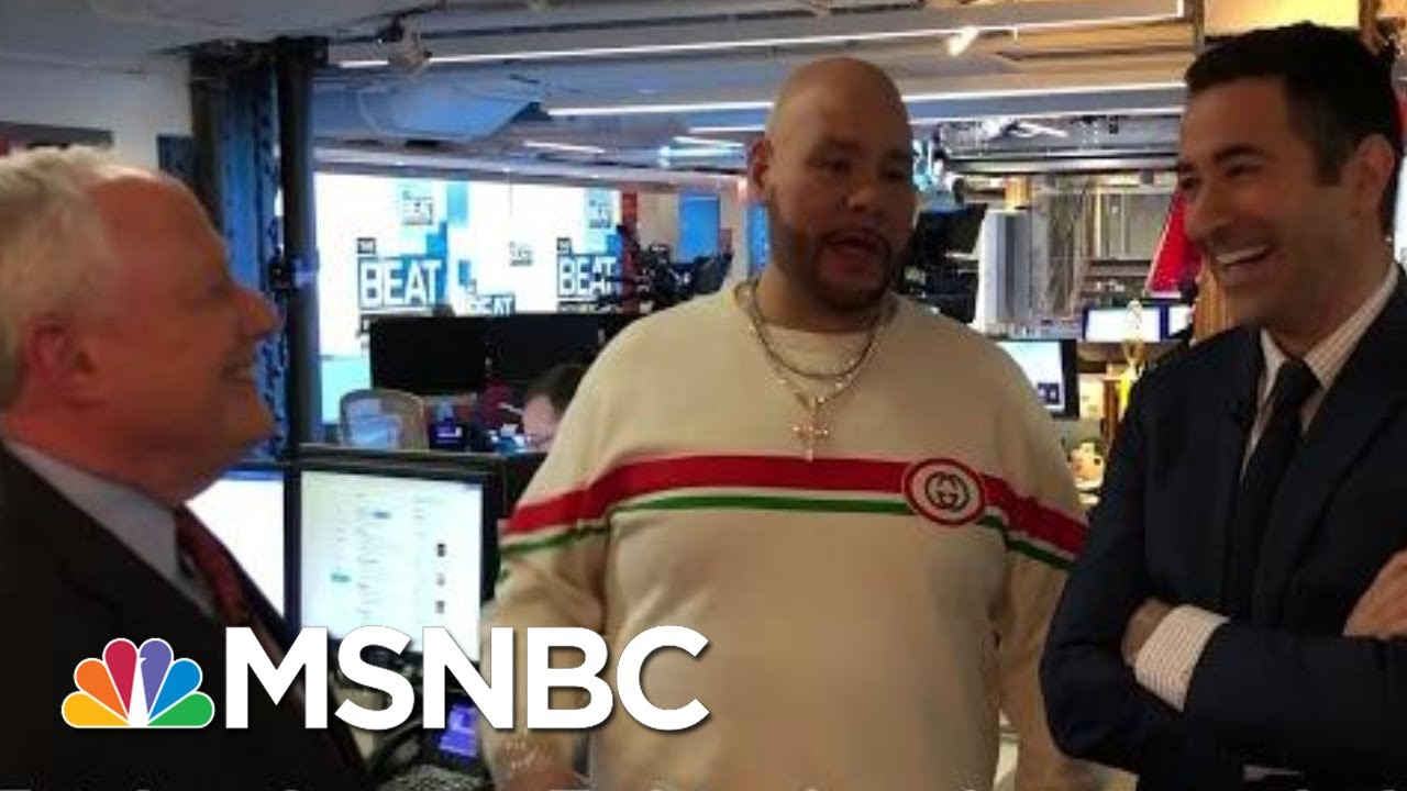 Go Backstage With Fat Joe, Ari Melber And Bill Kristol In The MSNBC Newsroom | MSNBC 5