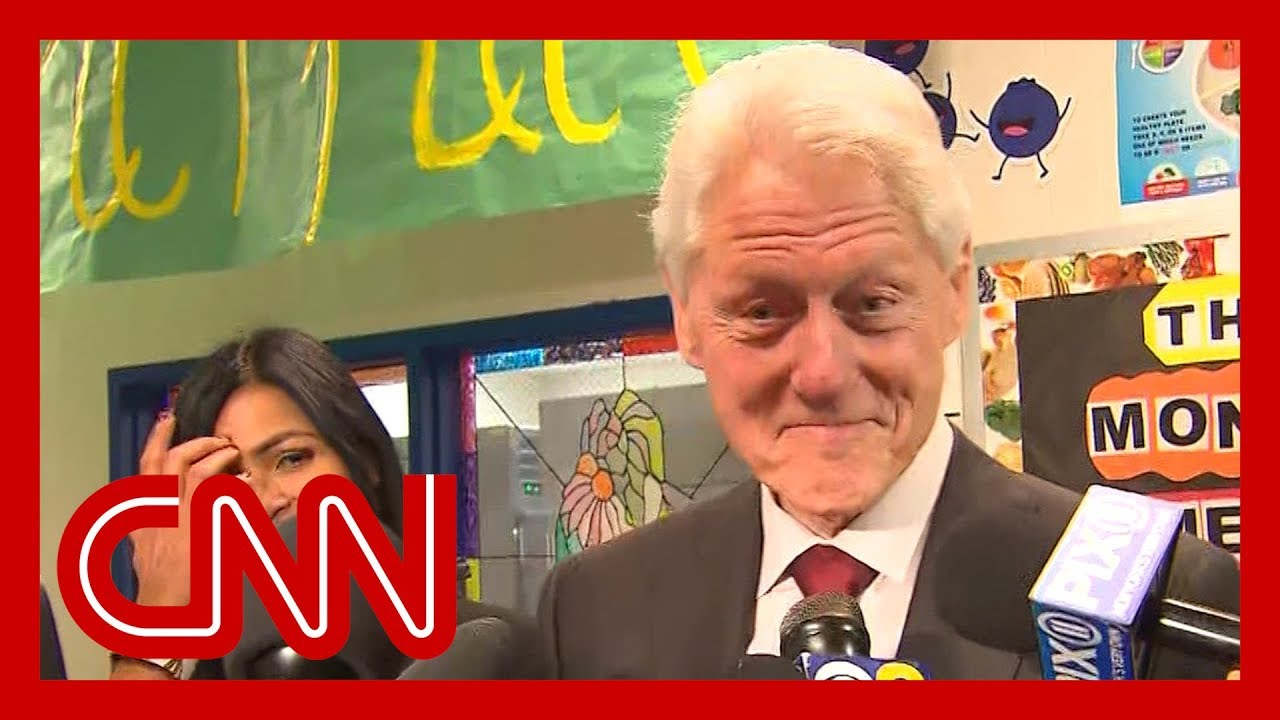 Bill Clinton reacts to articles of impeachment against Trump 3