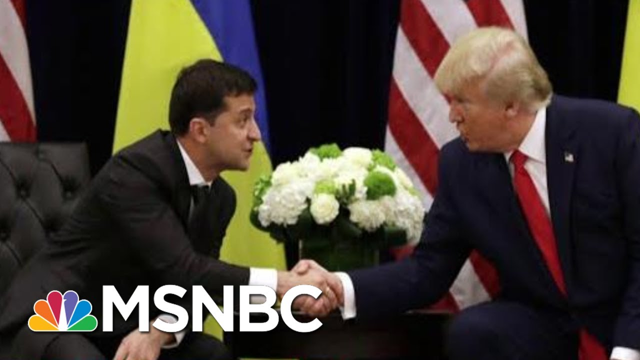 White House Announces It Won't Participate In Impeachment Hearing | Deadline | MSNBC 4