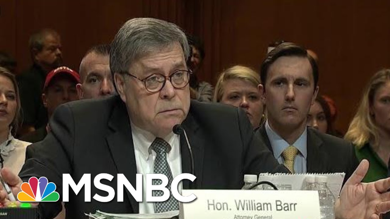 Trump Campaign Was Not Spied On: DOJ IG; Barr Reverts To Deceit | Rachel Maddow | MSNBC 1