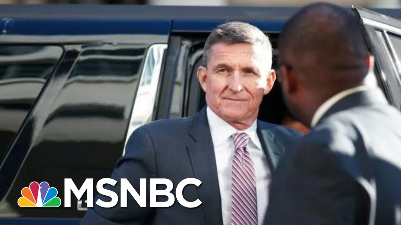 DOJ IG Report Debunks Mike Flynn Hail Mary Defense Ahead Of Sentencing | Rachel Maddow | MSNBC 3