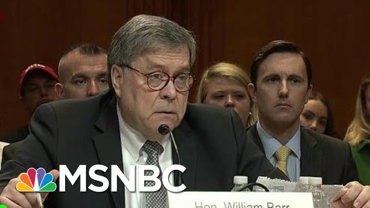 AG Barr Uses His Position To Be President Donald Trump's Roy Cohn | Morning Joe | MSNBC 4