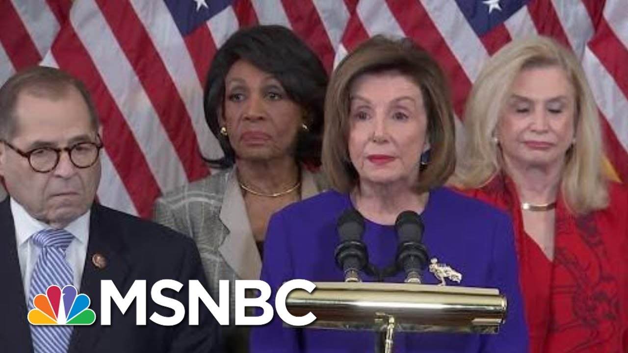 House Dems Charge Trump With 'High Crimes And Misdemeanors' In Two Articles Of Impeachment | MSNBC 7