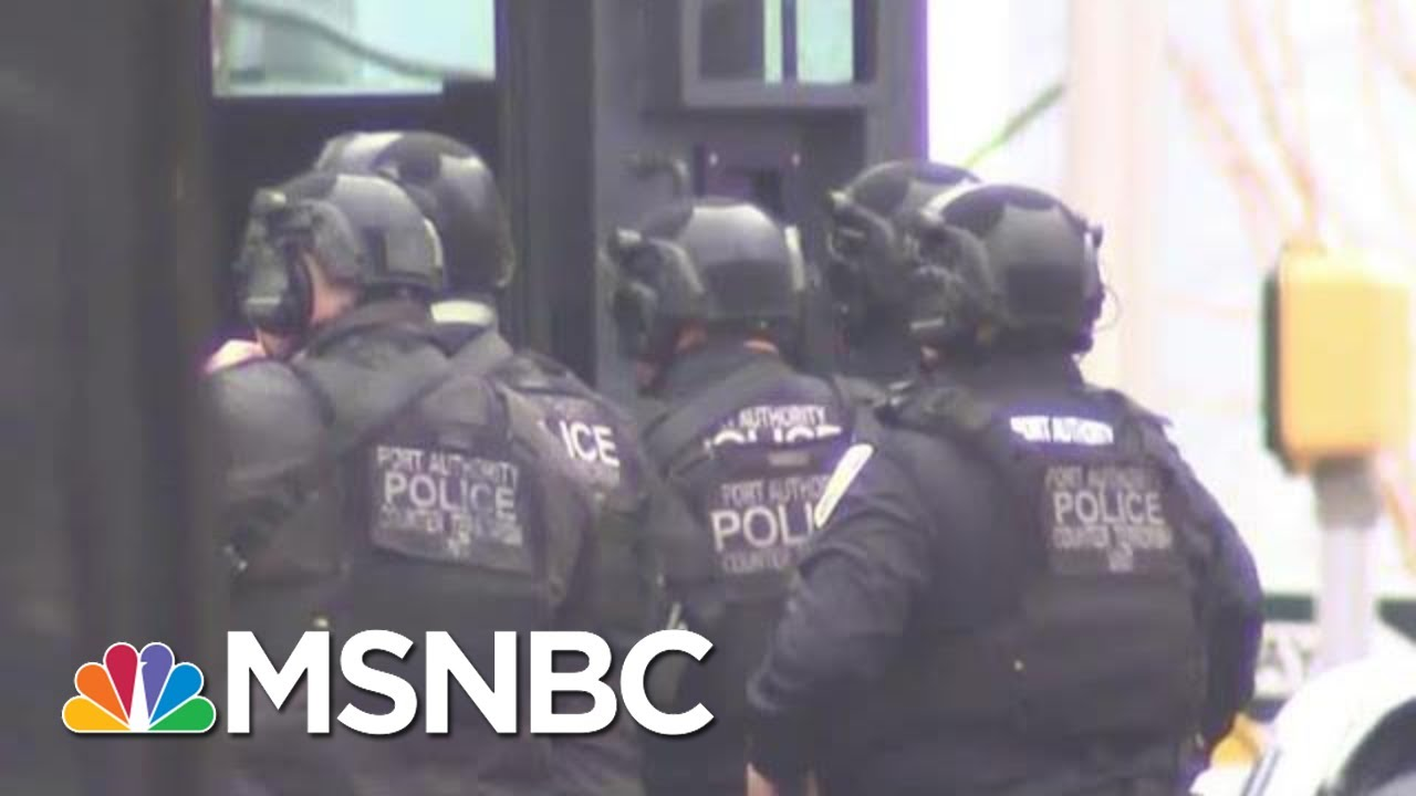 Jersey City Shooting Leaves Officer Shot In Head | MSNBC 1