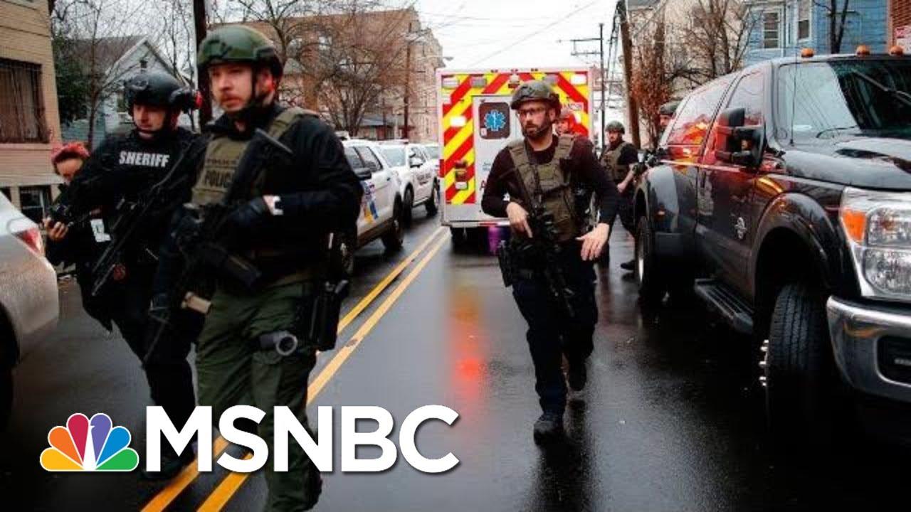 Jersey City Shooting Witness: 'There Was A Lot Of Gun Power' | Velshi & Ruhle | MSNBC 2