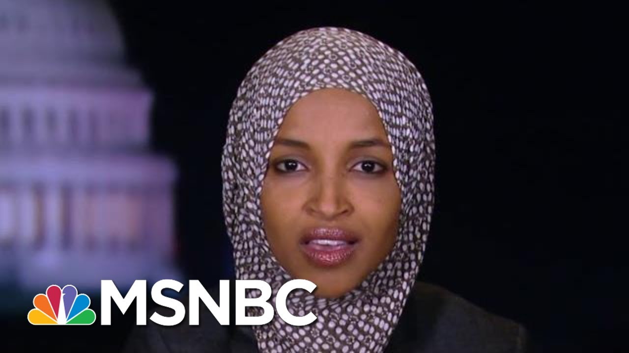 Ilhan Omar: To Impeach Trump, Focus On Ukraine Not Other Issues | The Beat With Ari Melber | MSNBC 4
