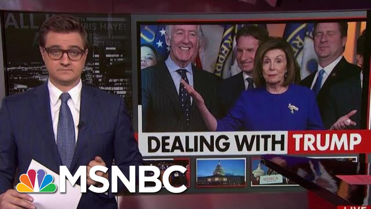 Democrats Agree To Support North America Trade Deal | All In | MSNBC 9