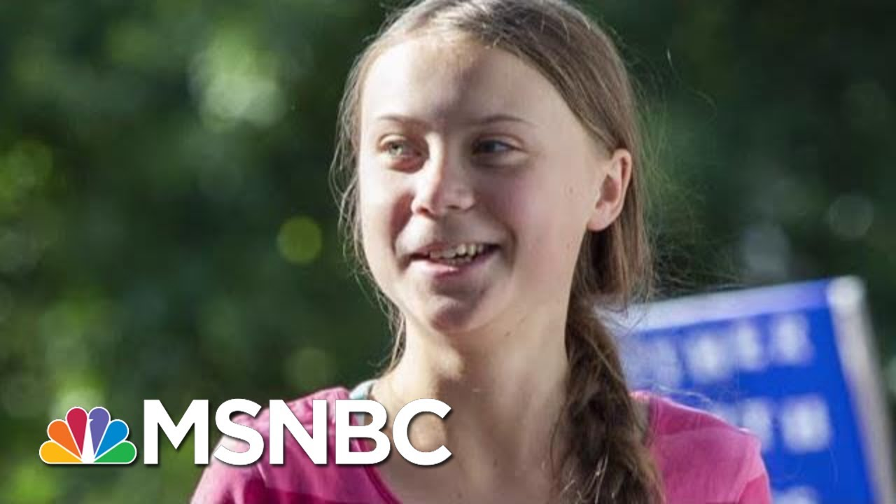 Greta Thunberg Named Time's Person Of The Year | Morning Joe | MSNBC 14