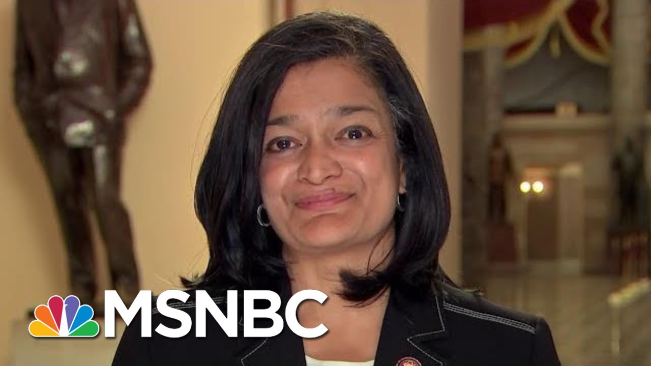 Rep. Pramila Jayapal: 'President Trump Is The Smoking Gun' | The Last Word | MSNBC 1