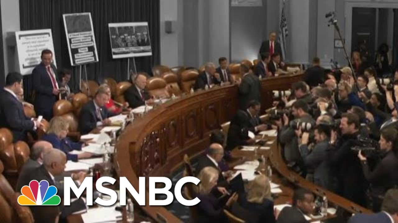 House Judiciary Committee Debates Impeachment | The 11th Hour | MSNBC 8