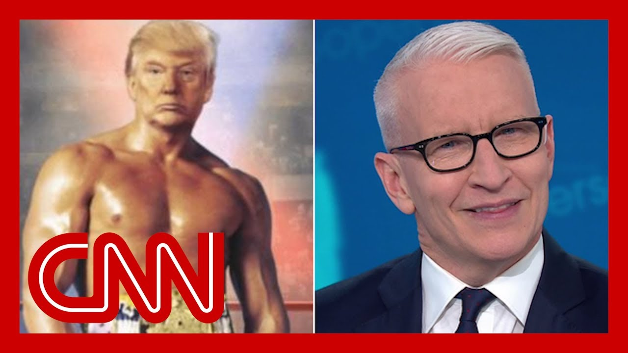 Cooper skewers Trump's photoshopped image of himself 7