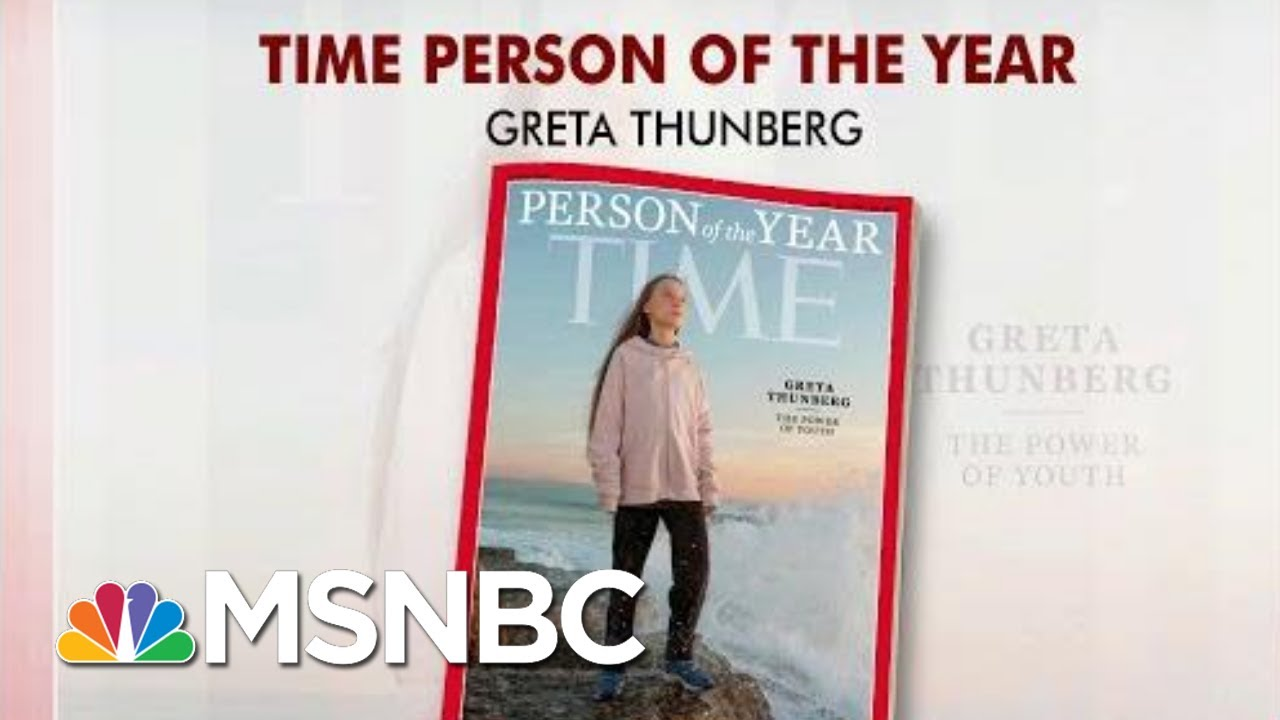 Trump Mocks Time's Person Of The Year On Twitter | Morning Joe | MSNBC 7