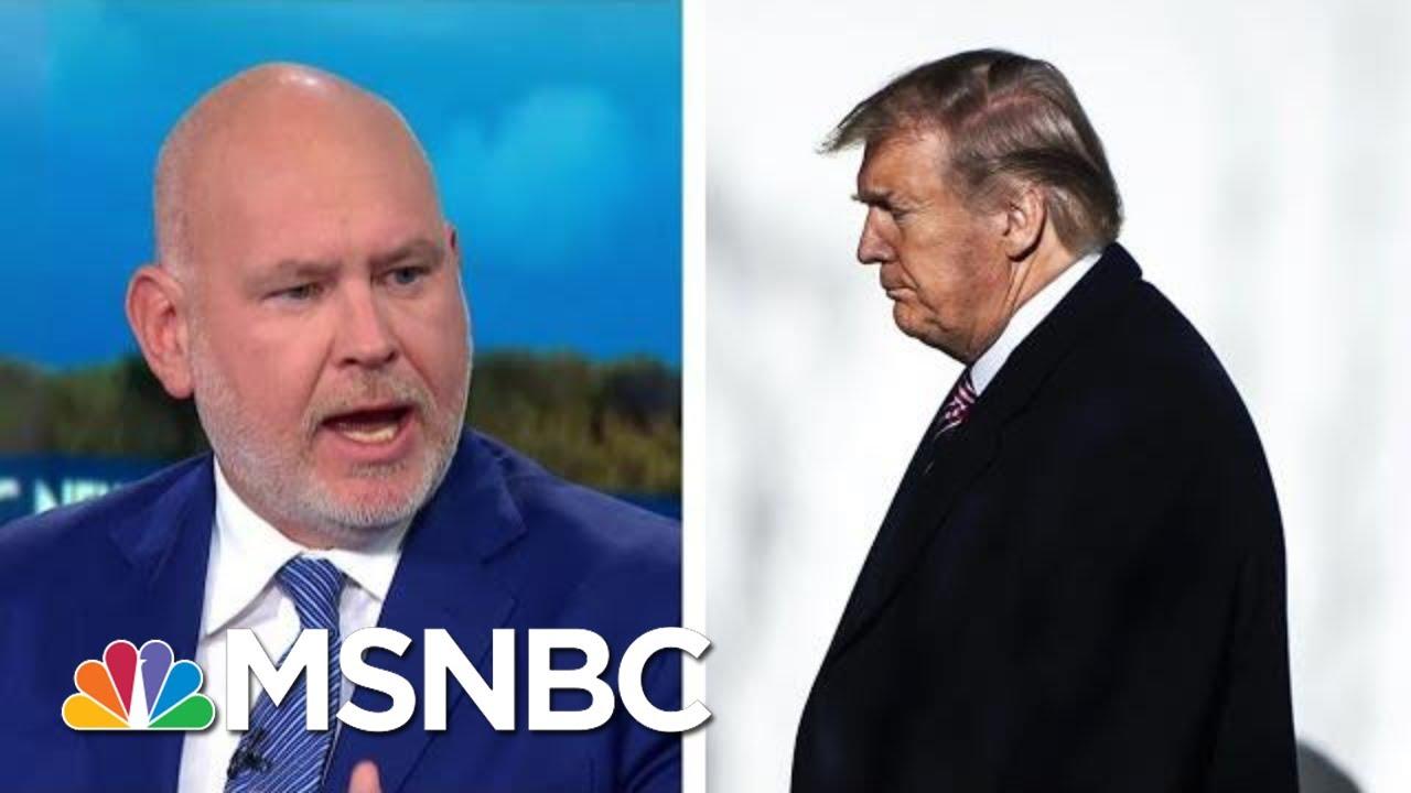 Schmidt: Trump Has 'Made Himself America's Greatest Victim' | MSNBC 5