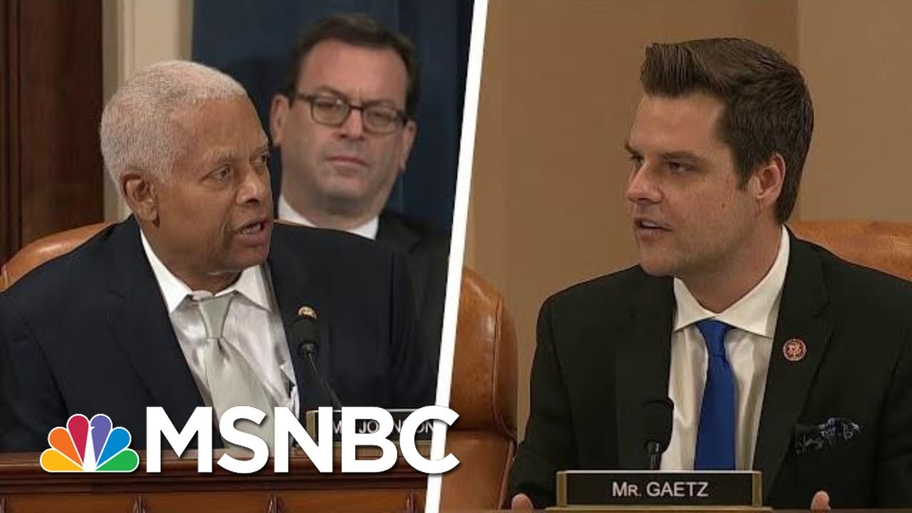 Rep. Hank Johnson: Rep. Gaetz 'Pot Calling Kettle Black' Bringing Up Hunter Biden's DUI | MSNBC 9