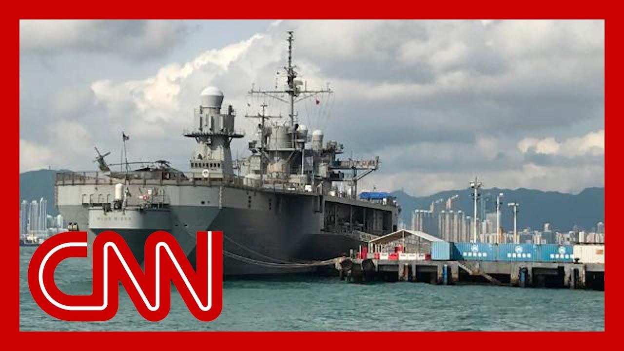 China bans US military visits to Hong Kong over protest support 9
