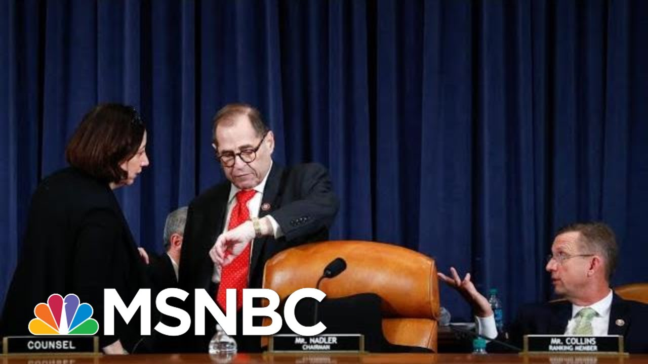 Jerry Nadler Shocks GOP With Surprise End To Trump Impeachment Debate | The 11th Hour | MSNBC 2