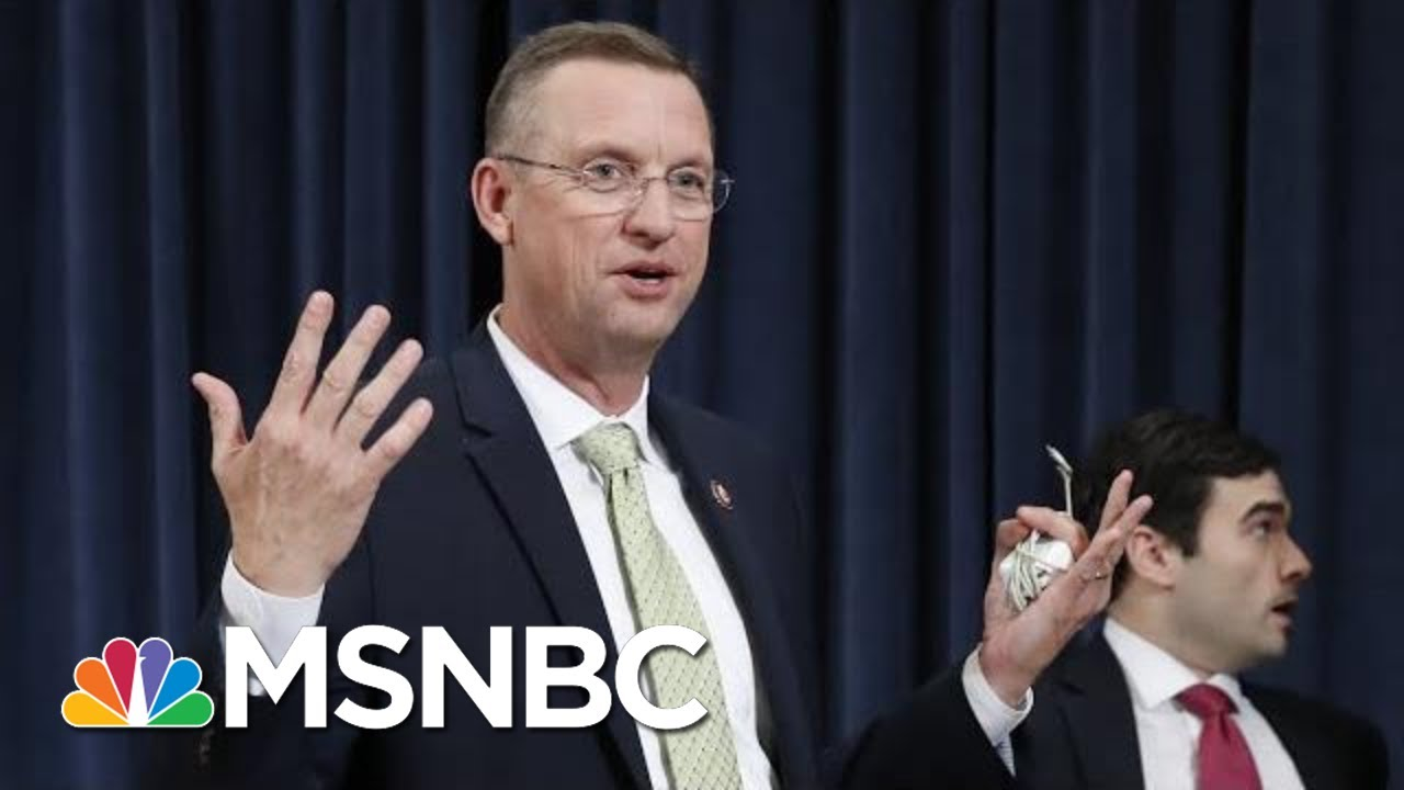 Collins Blasts Democrats For 'Bush-League' Impeachment Hearing 'Crap' | The 11th Hour | MSNBC 8