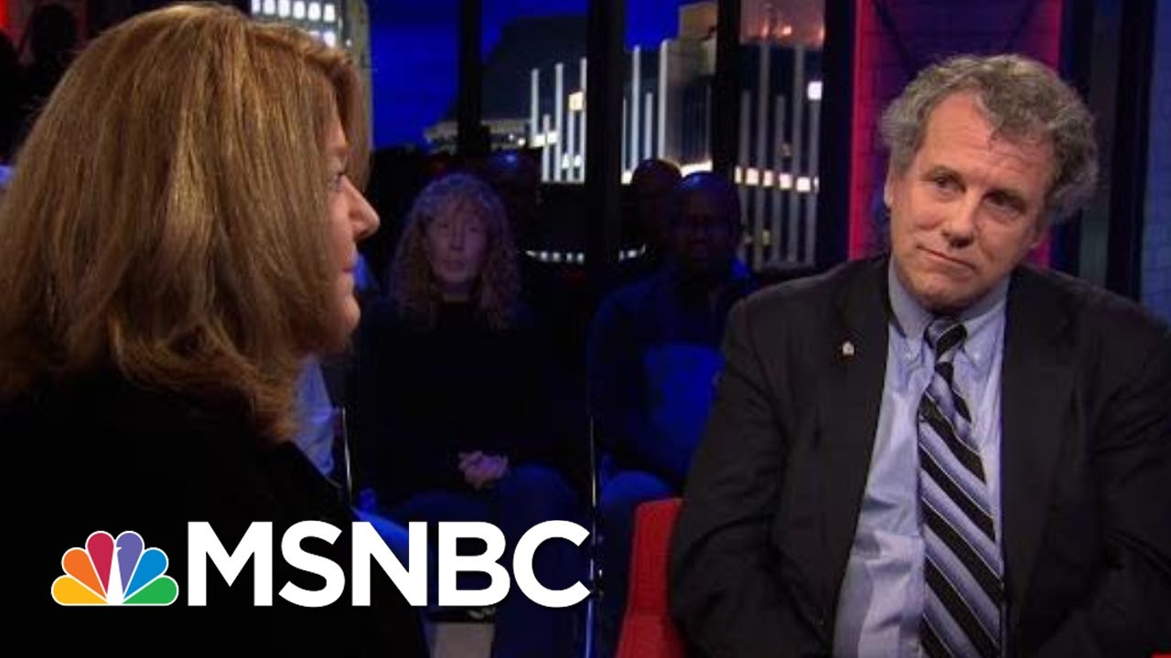 Sen. Sherrod Brown & Connie Schultz On Why They Decided Against A Presidential Run | All In | MSNBC 2