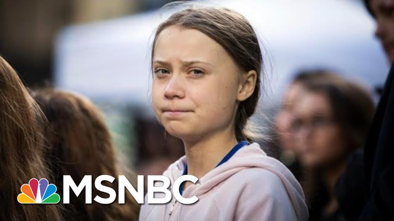 Republicans Silent After Trump Mocks Climate Activist Greta Thunberg | The 11th Hour | MSNBC 5