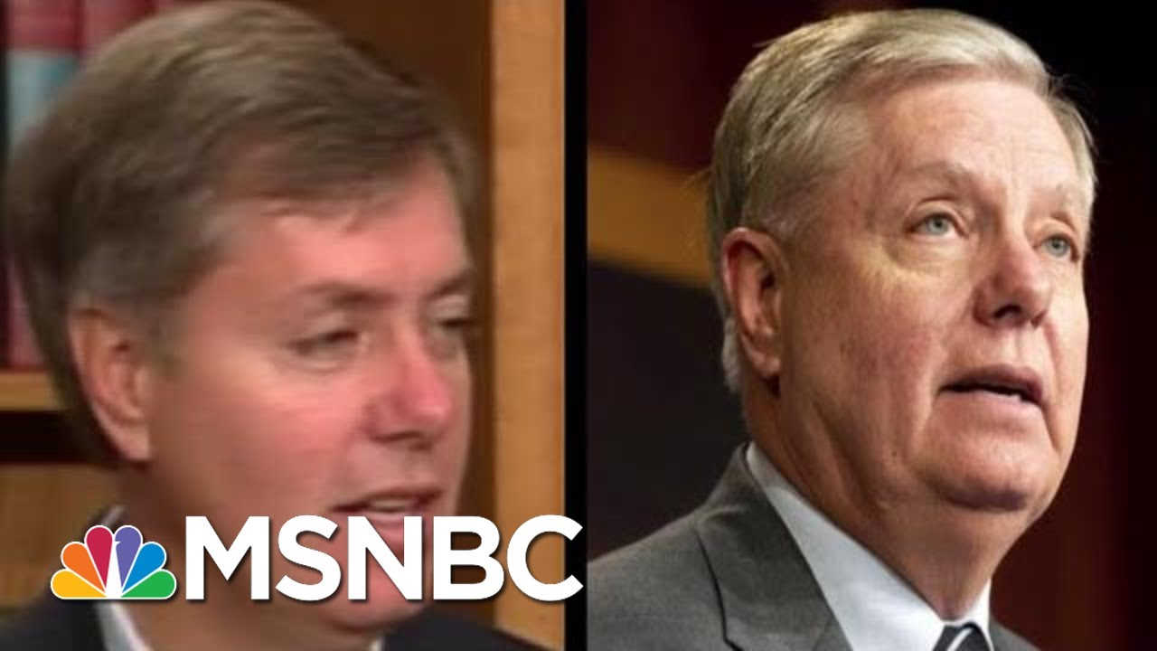 Lindsey Graham On Impeachment (In 1998): Let The Facts To The Talking | The 11th Hour | MSNBC 8