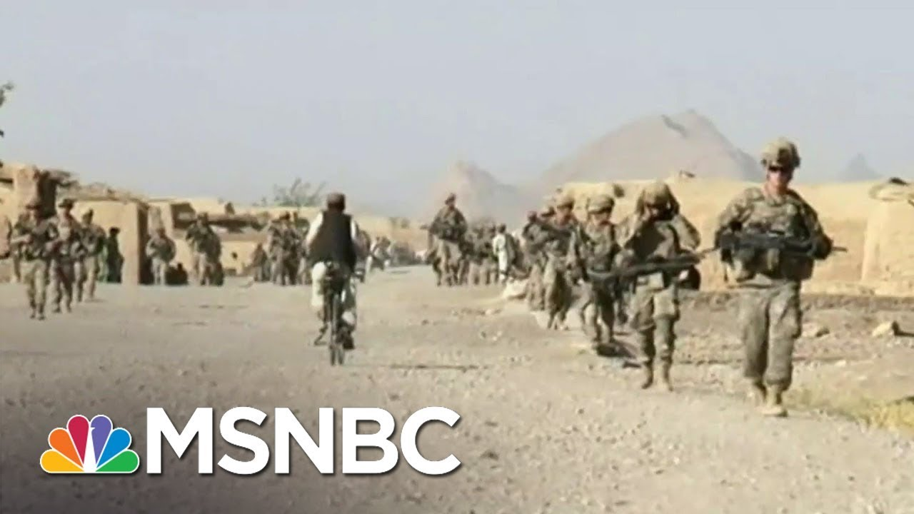 Trump Admin To Announce Intent To Withdraw Thousands Of Troops From Afghanistan | MSNBC 3