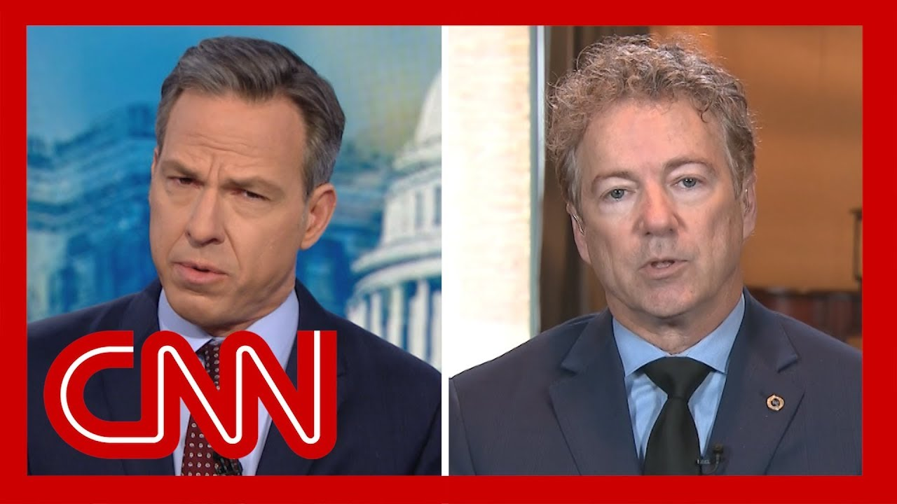 Jake Tapper to Sen. Rand Paul: Do you really think Trump cares about corruption? 5