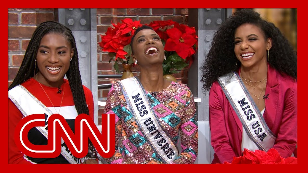 Miss America, Miss Universe, and Miss USA winners talk to CNN after making pageant history 6