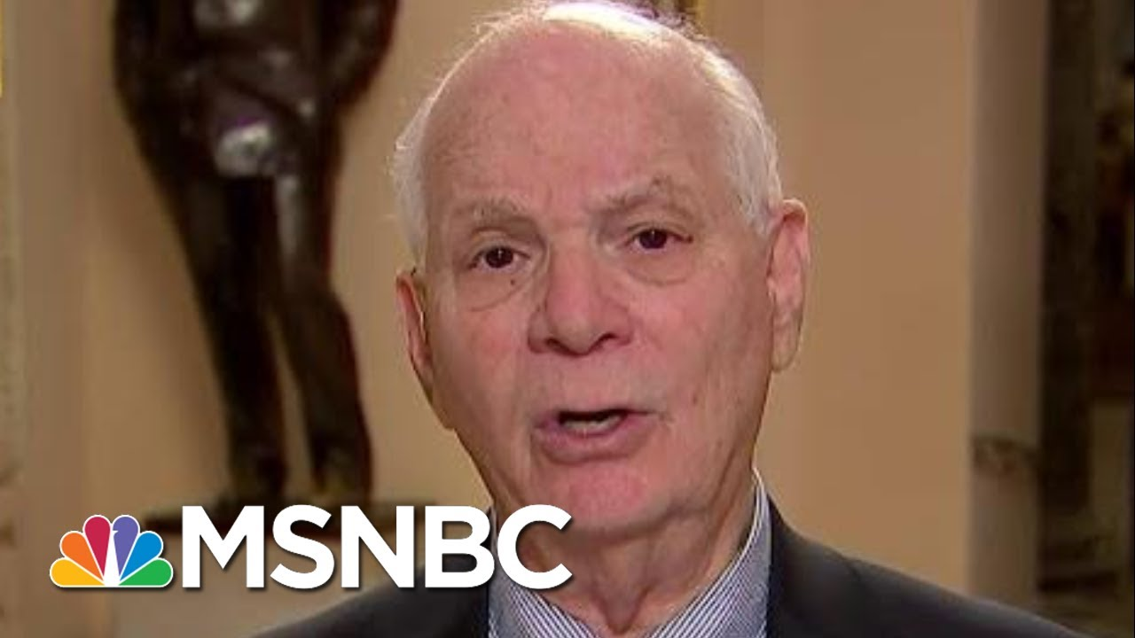 Ben Cardin Says He's 'Not Prejudged' Impeachment Vote | MTP Daily | MSNBC 5