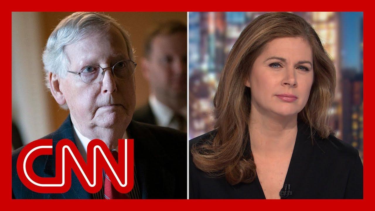 McConnell backs Trump. CNN's Erin Burnett isn't buying it 1