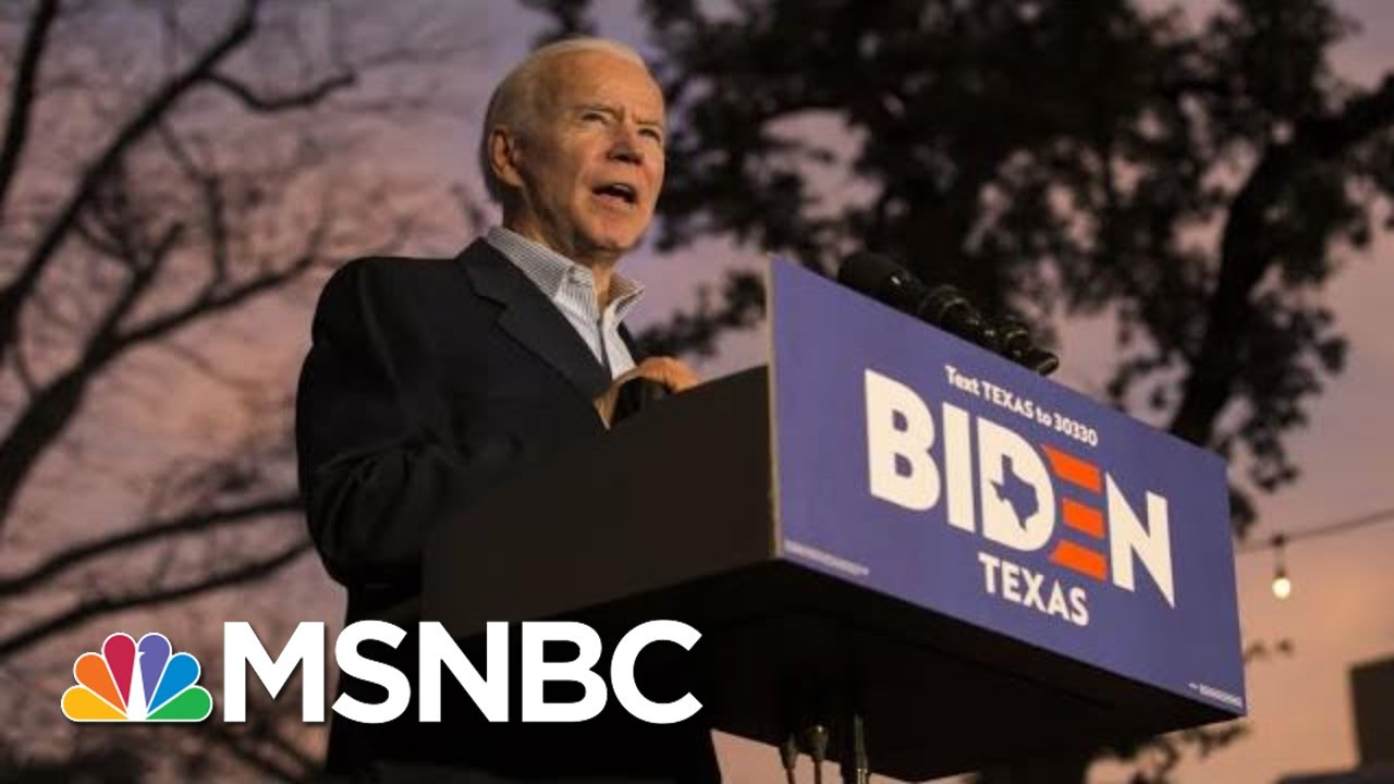 Biden Torches Trump: 'Narcissism Is A Mental Deficiency' | The 11th Hour | MSNBC 7