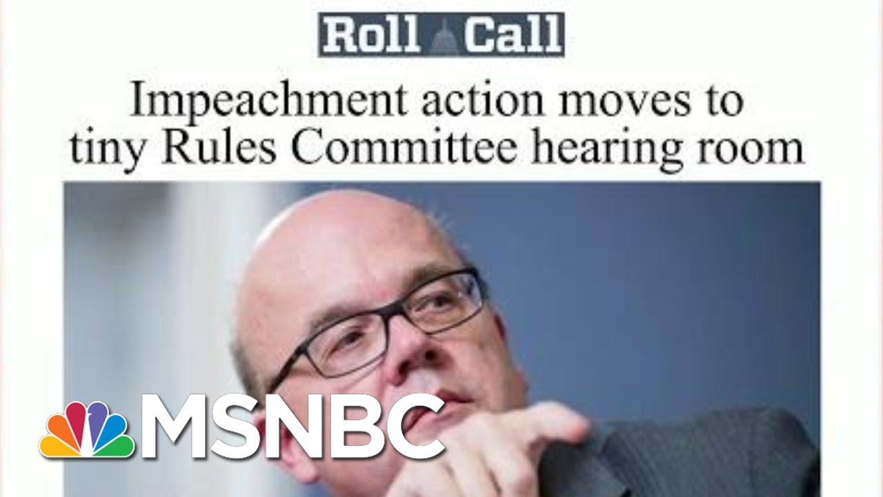 House Committee Takes Up Articles Of Impeachment For First Time | Morning Joe | MSNBC 6