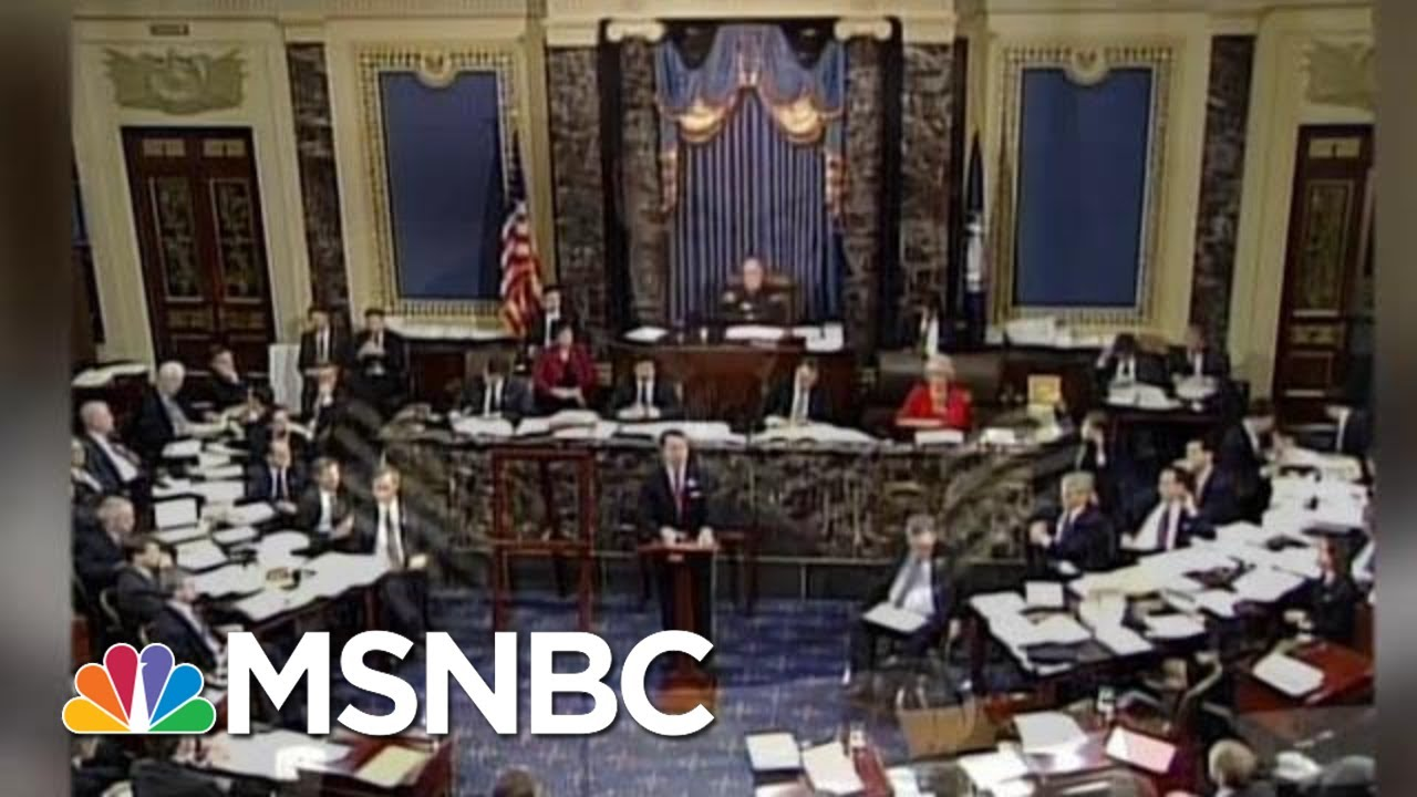 Watch: Republicans Demand More Impeachment Witnesses, When Clinton Was On Trial | MSNBC 3