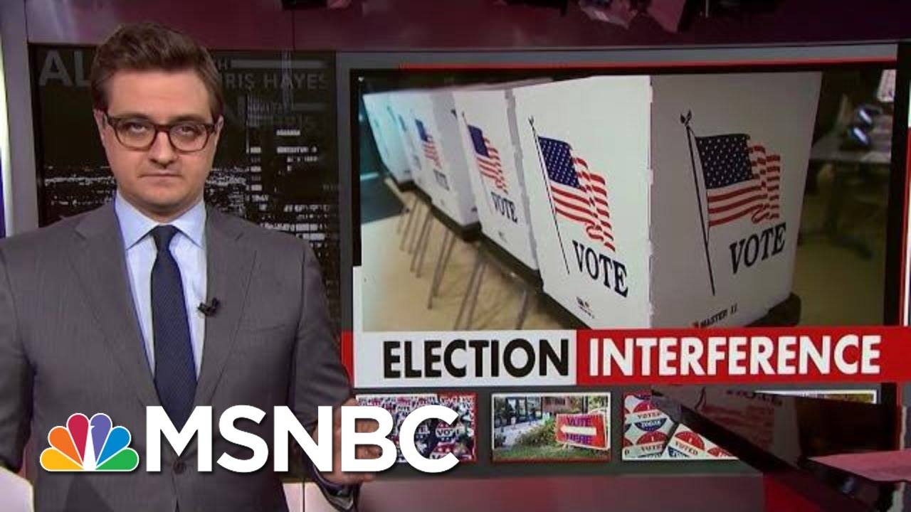 Chris Hayes On The Party Of Voter Suppression | All In | MSNBC 5
