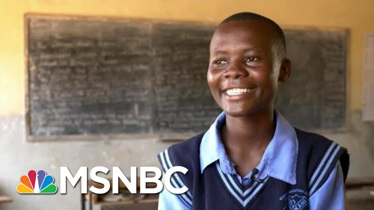 KIND Scholarship Student: 'I Want To Be Educated' | The Last Word | MSNBC 5