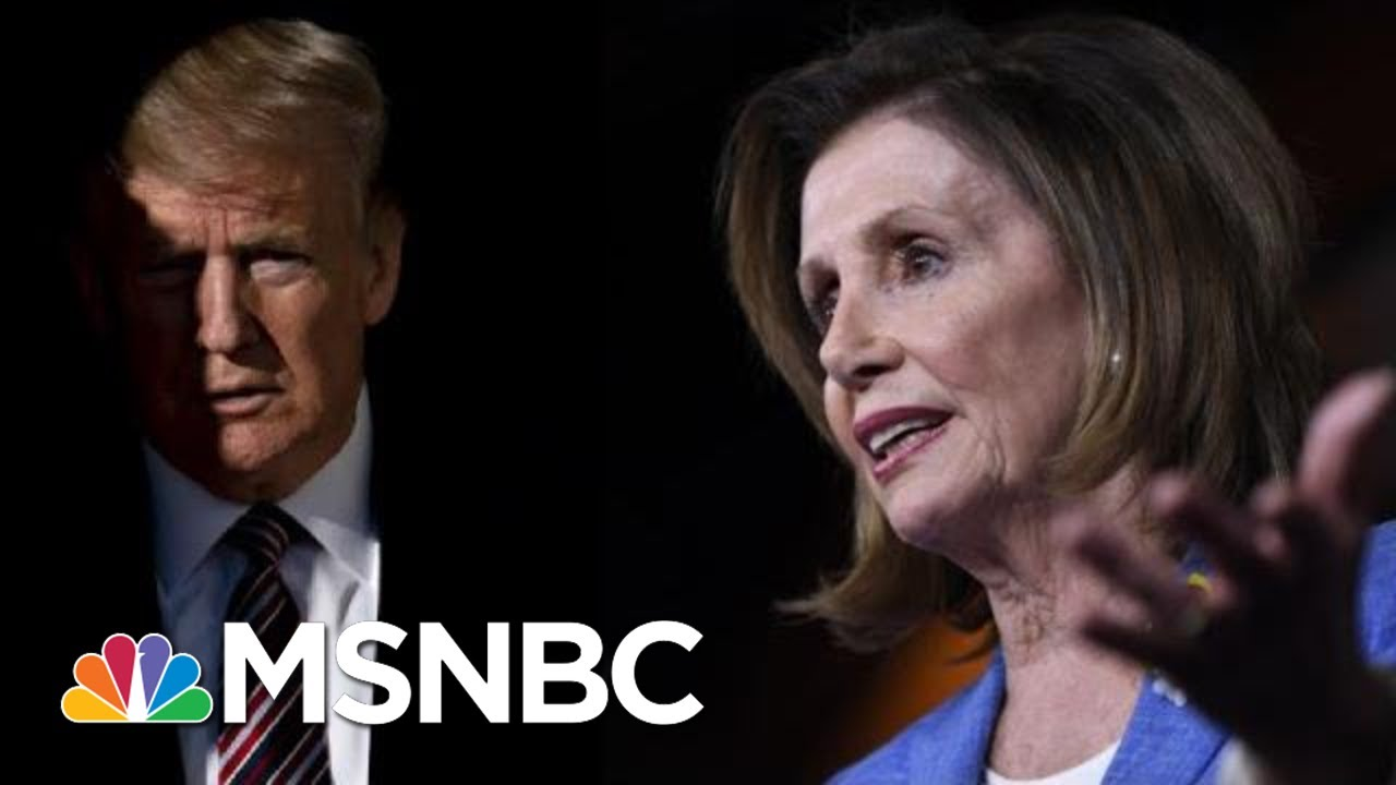 Day 1,062: Pelosi Calls Trump's Wild Impeachment Letter To Her 'Really Sick' | The 11th Hour | MSNBC 4