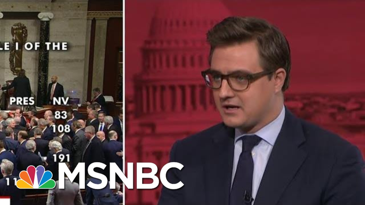 'This Is Trump's Party:' Chris Hayes On GOP Showing At Impeachment Vote | All In | MSNBC 7