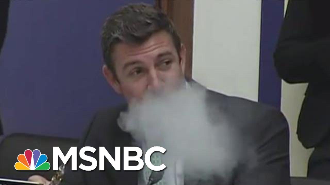 Vaping Congressman Duncan Hunter Will Plead Guilty | All In | MSNBC 4