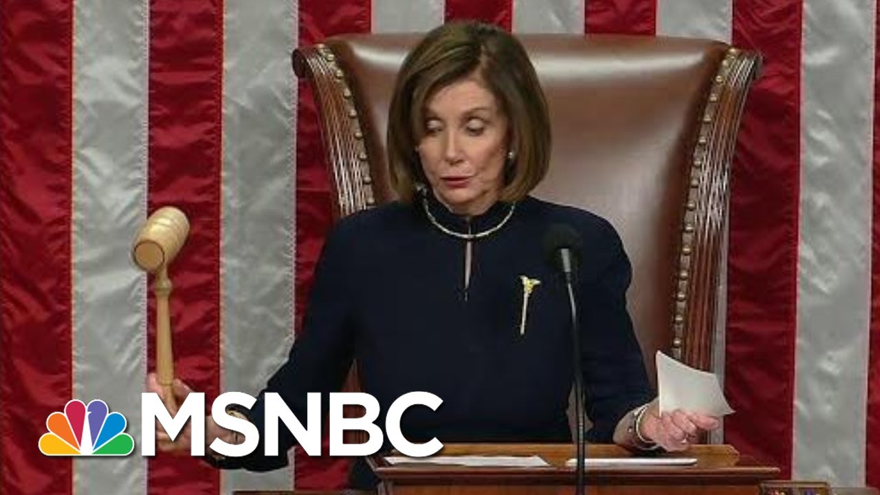 President Donald Trump Impeached For Obstruction Of Congress | MSNBC 8