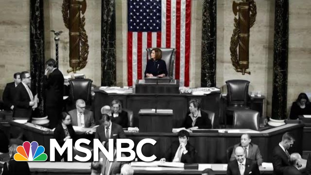 Day 1,063: The U.S. House Of Representatives Has Impeached President Trump | The 11th Hour | MSNBC 5