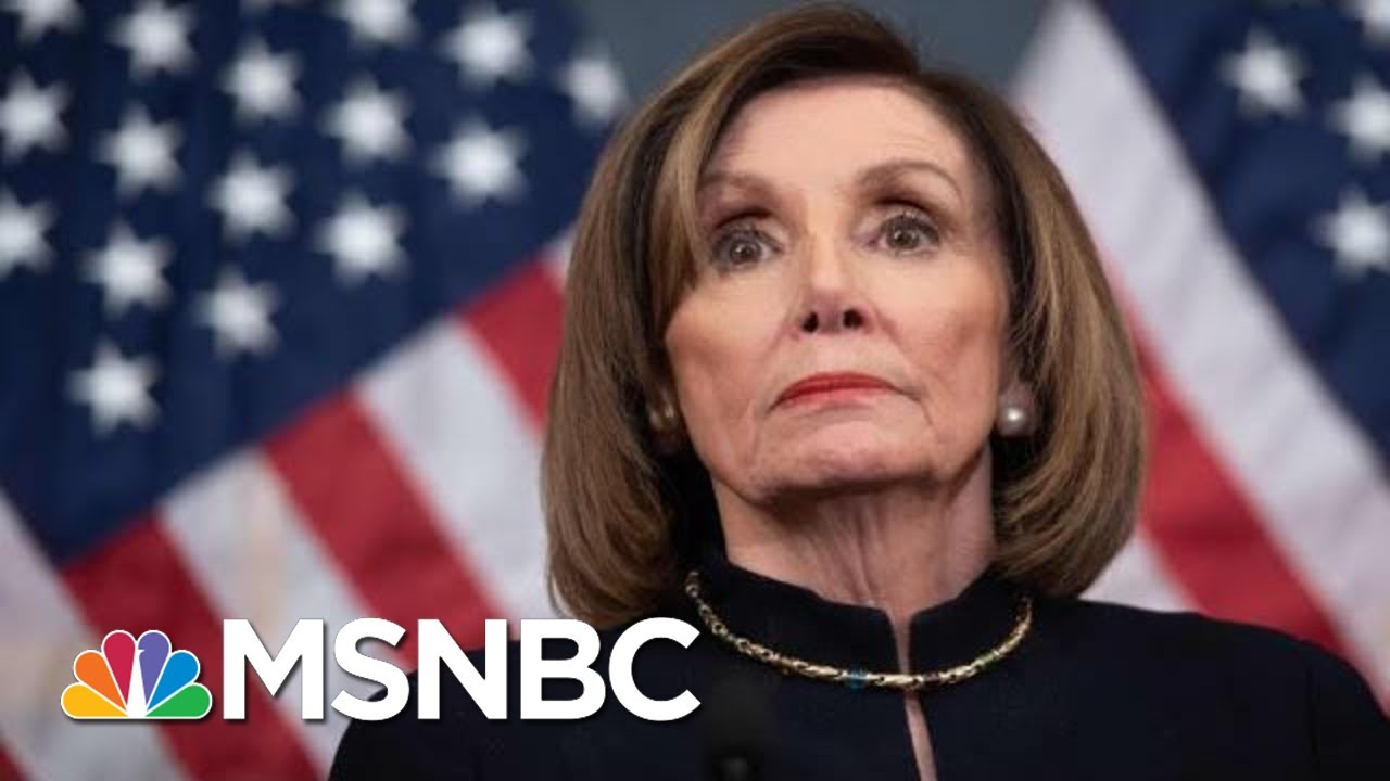How And Why Pelosi May Not Send Impeachment To The Senate Just Yet | The 11th Hour | MSNBC 5