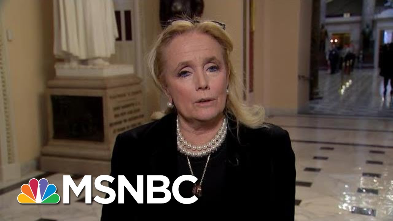 Rep. Debbie Dingell Says 'It Hurt' After Trump Insulted Late Husband And Congressman | MSNBC 1