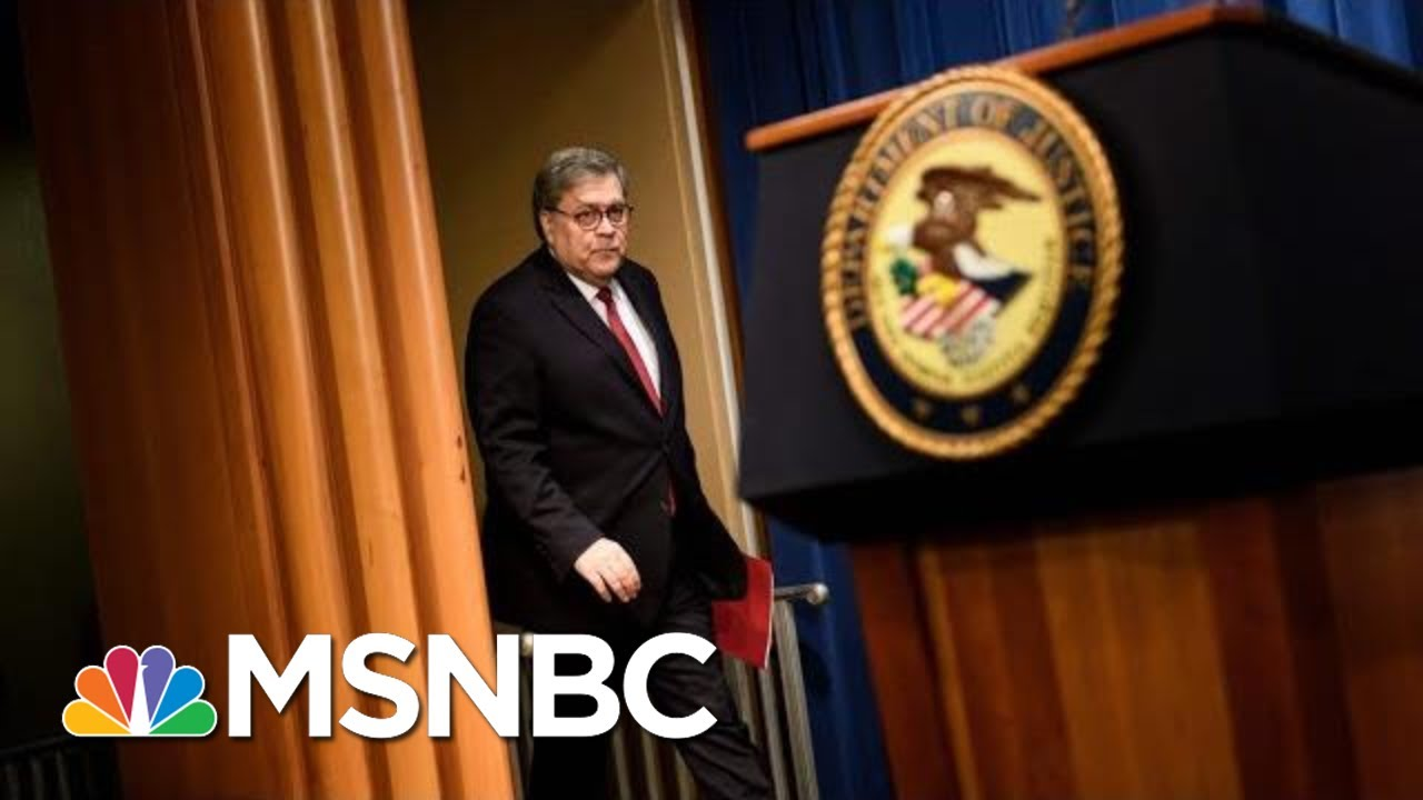 Bill Barr Couldn't Be More Destructive AG Than If Putin Picked Him | The 11th Hour | MSNBC 10