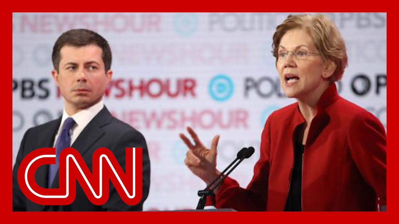 Elizabeth Warren attacks Pete Buttigieg for 'wine cave' donors 1