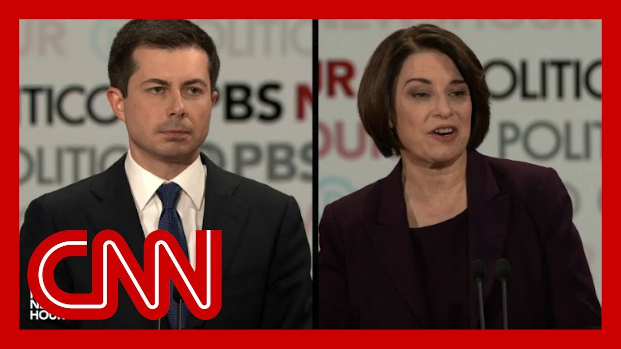 Amy Klobuchar shuts down Pete Buttigieg over political experience 7