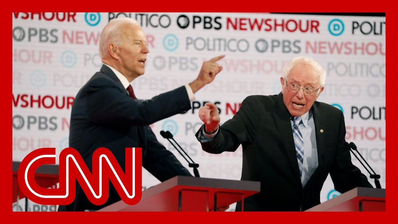 Joe Biden and Bernie Sanders butt heads over health care plans 1