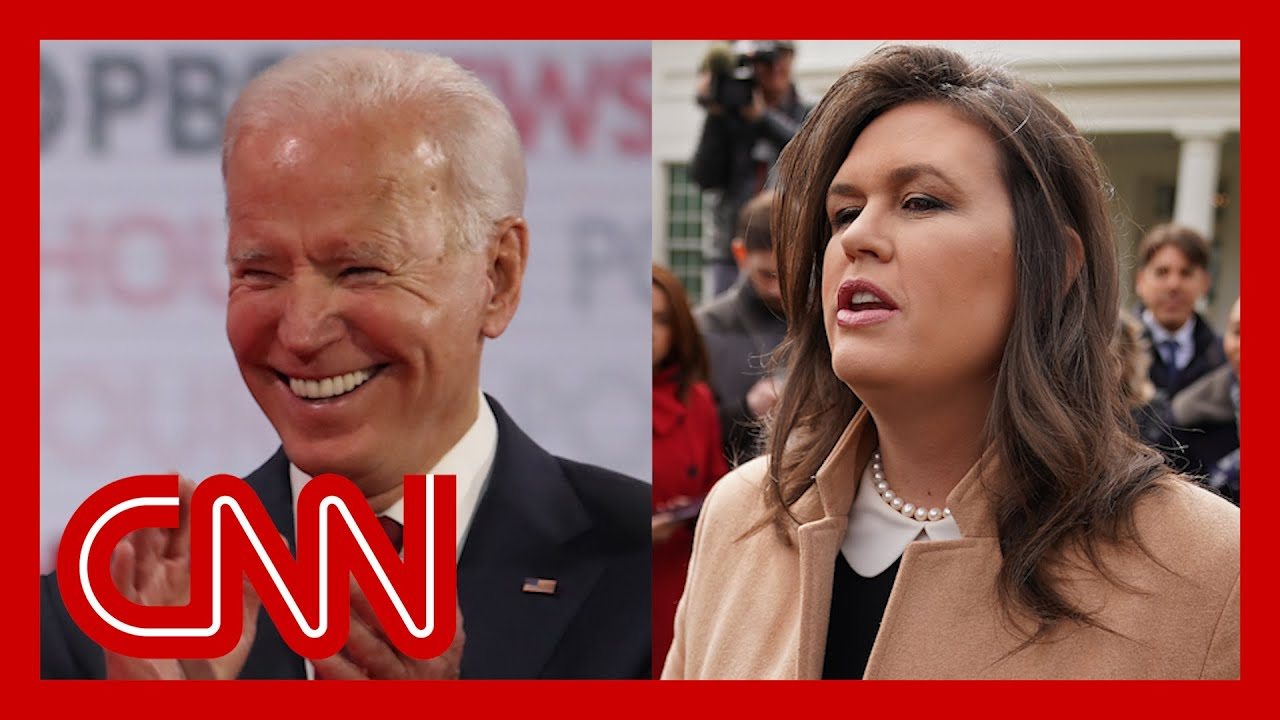 Sarah Sanders apologizes for mocking Biden 4