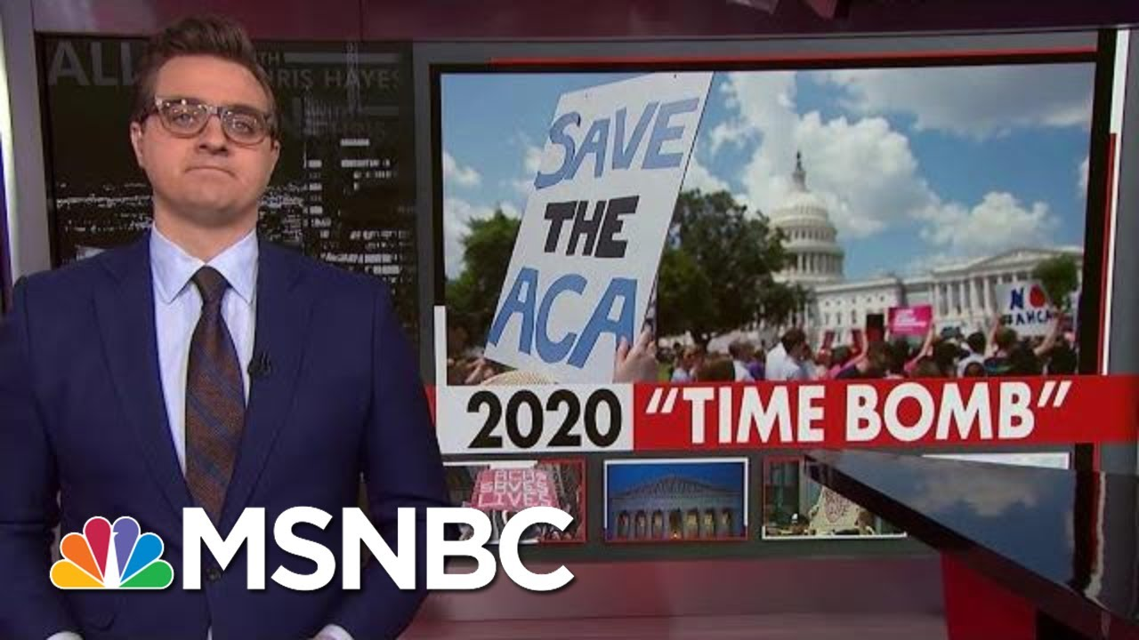 How A Court Ruling Undermining Obamacare Became A 2020 Time Bomb | All In | MSNBC 6