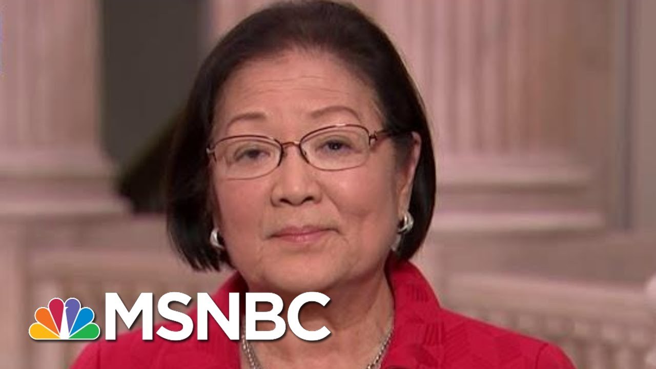 Sen. Hirono: The President's Actions Are 'Nothing To Get Over' | The Last Word | MSNBC 6